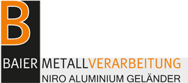 Baier Metallverarbeitung | Niro Aluminium Geländer